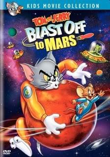 مكتبه لأجمل أفلام كارتون ديزنى Tom--Jerry-Blast-Off-to-Mars