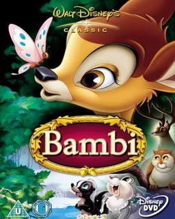 مكتبه لأجمل أفلام كارتون ديزنى Bambi1