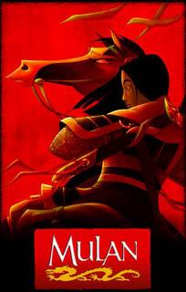 مكتبه لأجمل أفلام كارتون ديزنى Mulan_poster