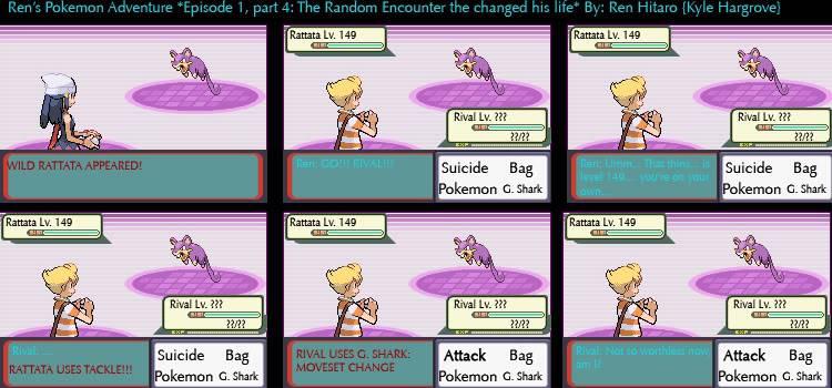 Ren 's Pokemon Adventure: A Pokemon Comic Part4