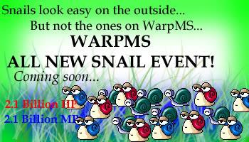 Snail Event SNAILs_EventWarp