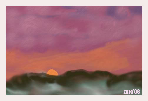 My Paintings Sunset-ar