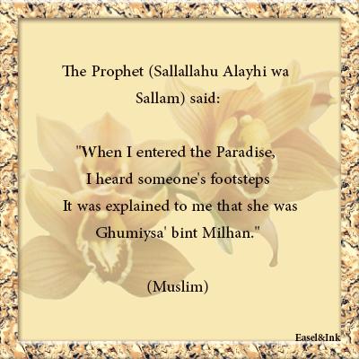 Umm Sulaim bint Milhan Al-Ansariyyah Ummsulaim