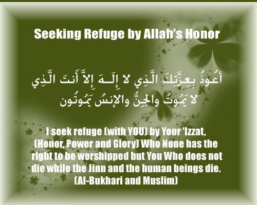 Duas from the Sunnah Refuseonhonor