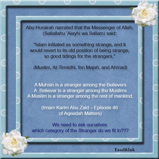 Aqeedah Matters - Imam Karim Abu Zaid - Page 2 Stranger