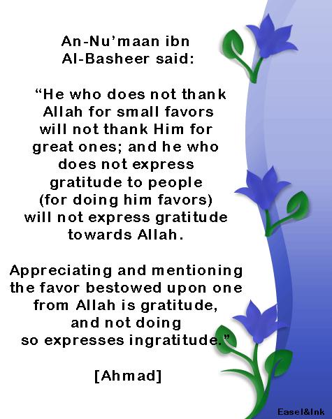 Jumu'ah Nasiha - Gratitude Wisdom76