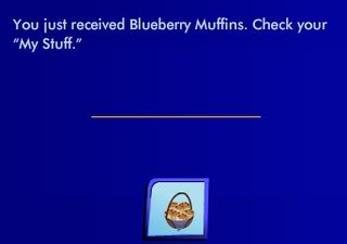 Mrs Cluas gift 2   blueberry muffins NewgiftNP