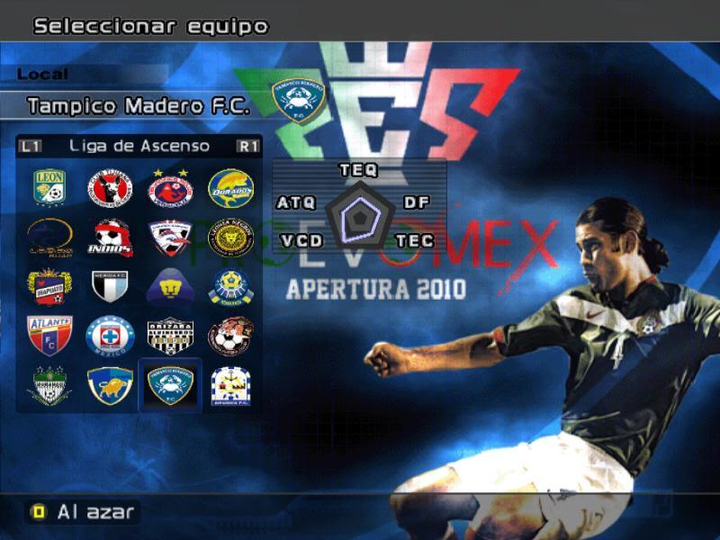 [DESCARGA][ACTUALIZACION]PROEVOMEX Liga Mexicana 2010 y CONCACAF P6