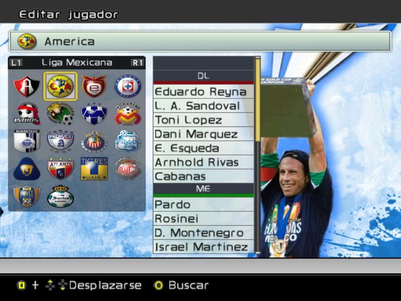 [SUPER PATCH]PROEVOMEX Liga Mexicana 2010 y CONCACAF Cap1