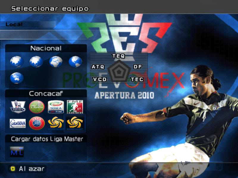[DESCARGA][ACTUALIZACION]PROEVOMEX Liga Mexicana 2010 y CONCACAF P3