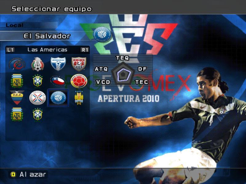 [DESCARGA][ACTUALIZACION]PROEVOMEX Liga Mexicana 2010 y CONCACAF P4