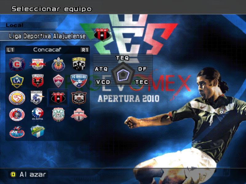[DESCARGA][ACTUALIZACION]PROEVOMEX Liga Mexicana 2010 y CONCACAF P5