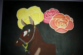 Art (not PB&J related) Horse
