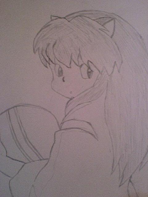 My beginners artwork..... Inuyashainhischildhood