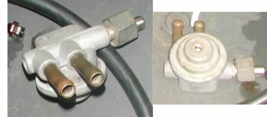 carburador da W126 Valvuladeretornofuelreturnvalve