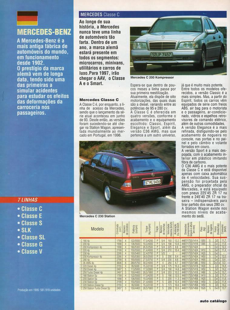 Catálogo 1997 Mercedes-Benz MBCatalogo1997a