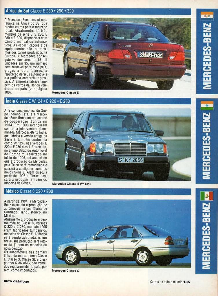 Catálogo 1997 Mercedes-Benz MBCatalogo1997f
