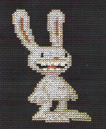 Sam and Max Hit the Road Sprite Patterns Max