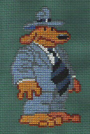 Sam and Max Hit the Road Sprite Patterns Sam