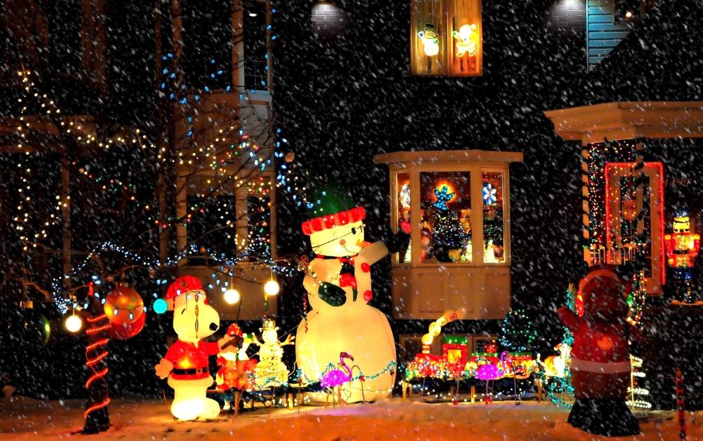 Let it snow, let it snow, let it snow... SNOOPY3