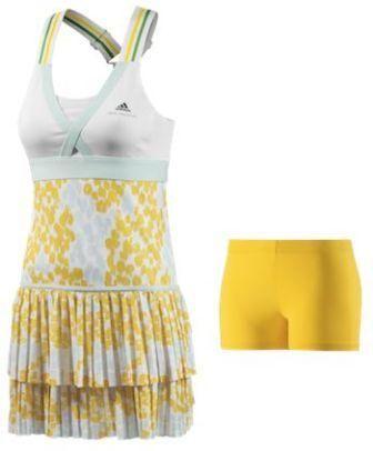Tennis Outfits in 2014 Caroline-Wozniackis-Australian-Open-2014-dress_zpsfa5400d0