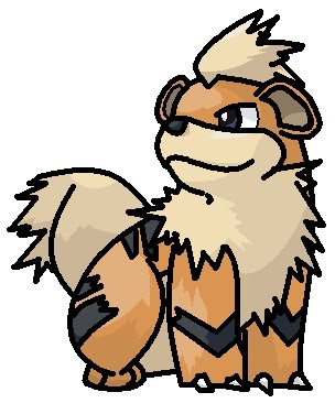 Pokemon on MS Paint - Page 2 Growlithe