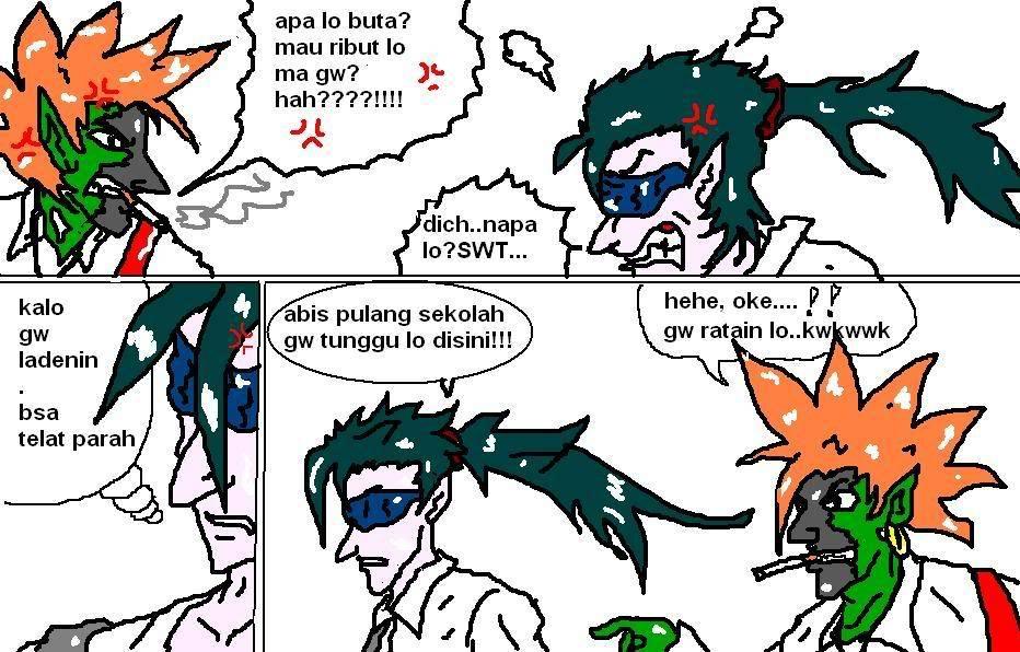 Komik DOta telah hadir...^^ Page6