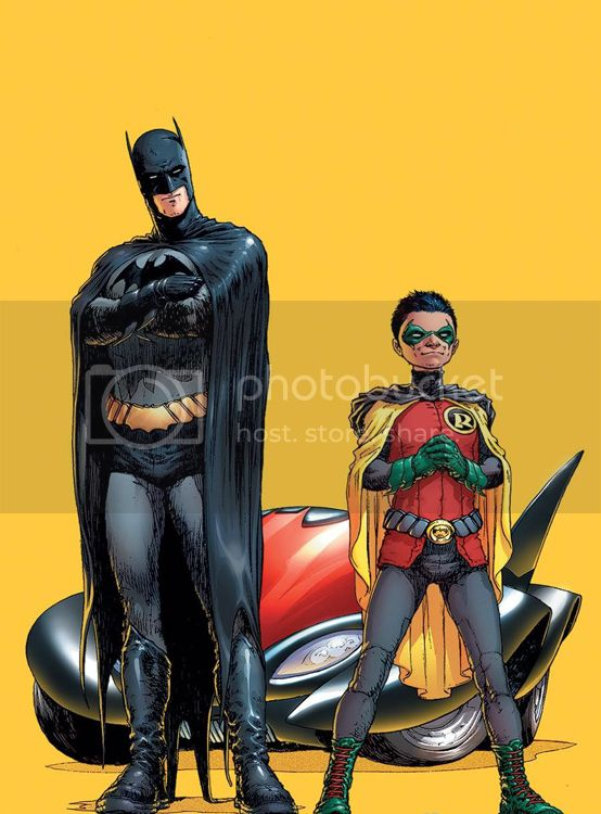 Flash - [TEMPORADA 4] CLASH OF COMICBOOK ARTISTS - Página 17 Quitely_BatmanandRobin