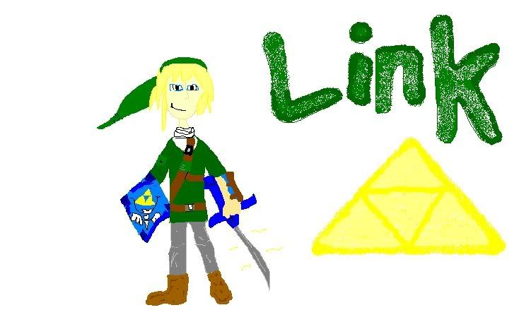 Drawing of Link! Comment! LinkPortrait-2