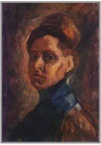 Nadežda Petrović Autoportret-1907