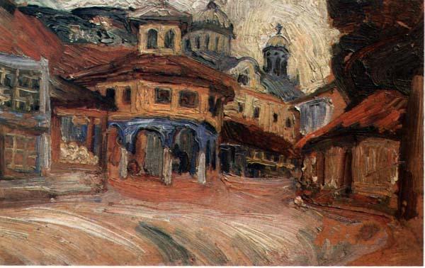 Nadežda Petrović Stari-sedrvan-u-Prizrenu-1913
