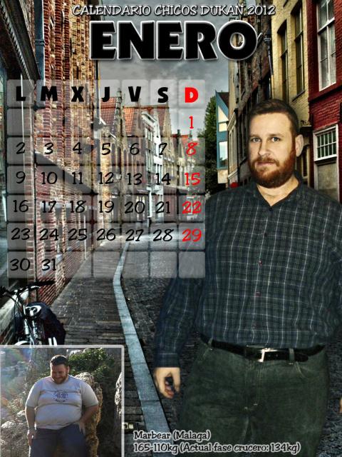 Calendario Chicos Dukan 2012 01_enero