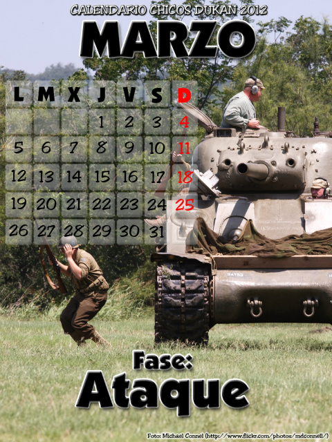 Calendario Chicos Dukan 2012 03_marzo