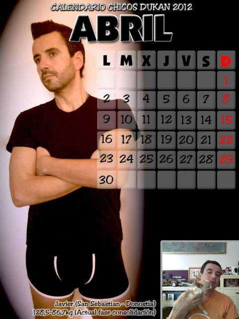 Calendario Chicos Dukan 2012 04_abril