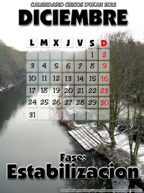 Calendario Chicos Dukan 2012 12_diciembre