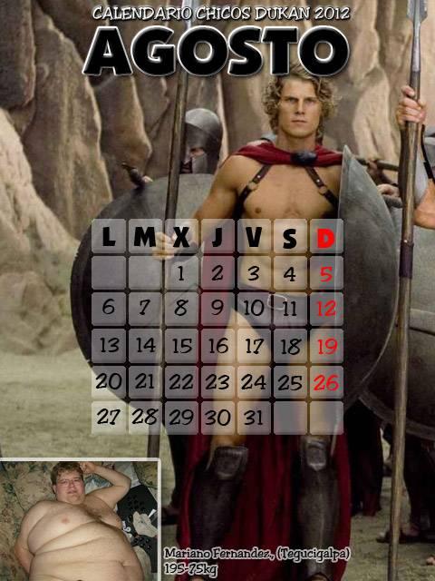 valientes que se apuntan al calendario. - Página 3 Calendario-dukan