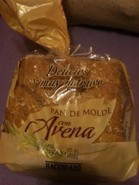 Pan integral de molde con avena hacendado? 1e52a803