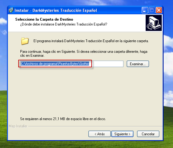 Descargar mod Darkmysteries en español Gothic6