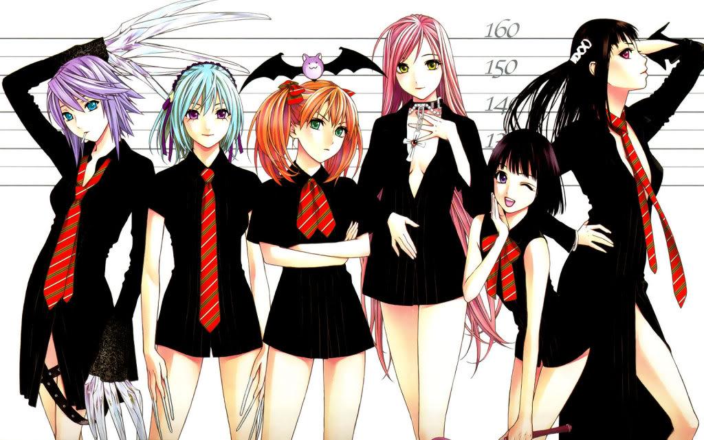 Mizore Shirayuki (Rosario to Vampire) RosarioVampireCapu2Girls