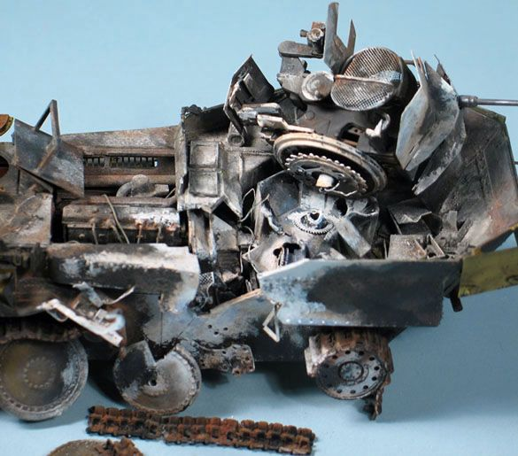 Bob's build A Dragon Flakpanzer 38(t) September 14th, All Finished!! - Page 2 Flak02