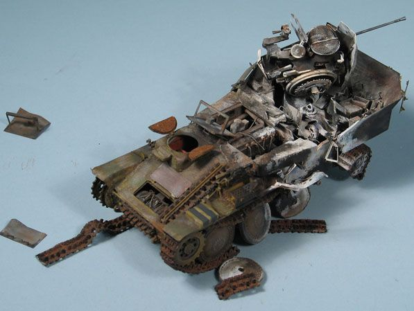 Bob's build A Dragon Flakpanzer 38(t) September 14th, All Finished!! - Page 2 Flak05