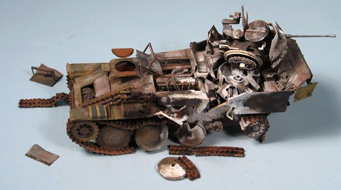 Bob's build A Dragon Flakpanzer 38(t) September 14th, All Finished!! - Page 2 Flak06