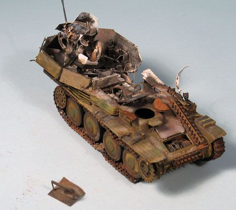 Bob's build A Dragon Flakpanzer 38(t) September 14th, All Finished!! - Page 2 Flak07