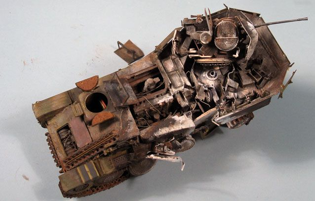 Bob's build A Dragon Flakpanzer 38(t) September 14th, All Finished!! - Page 2 Flak09