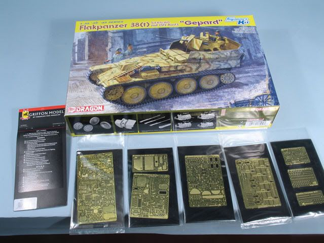 Bob's build A Dragon Flakpanzer 38(t) September 14th, All Finished!! Flakcopy