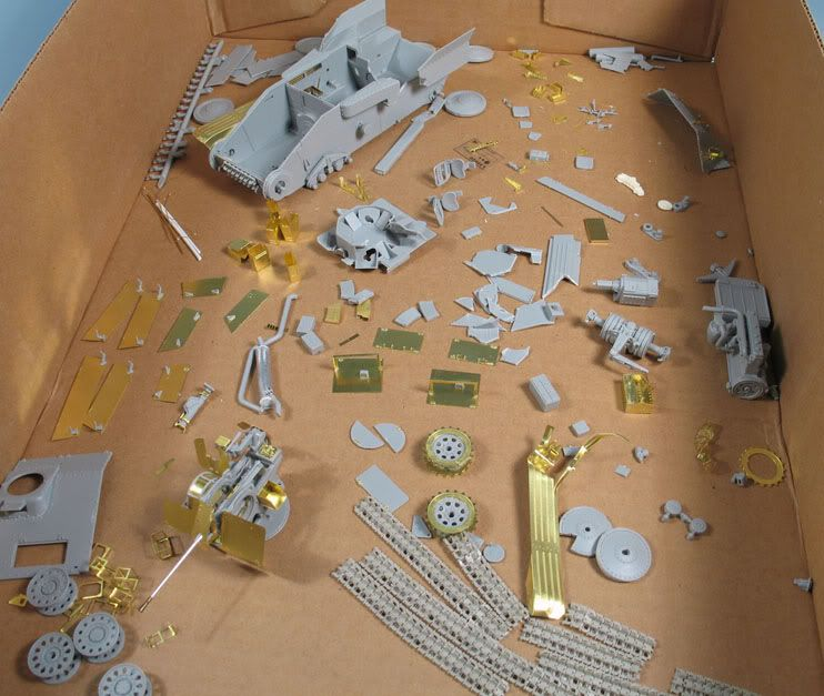 Bob's build A Dragon Flakpanzer 38(t) September 14th, All Finished!! Flakpanzer