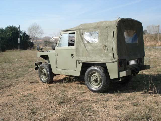 Proyecto Land Rover 88 Militar RC en Chapa 88M003