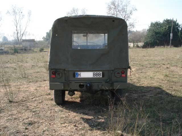 Proyecto Land Rover 88 Militar RC en Chapa 88M004