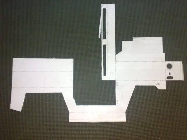 Proyecto Land Rover 88 Militar RC en Chapa 88M008