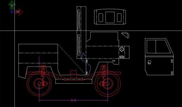 Proyecto Land Rover 88 Militar RC en Chapa CAD88M02